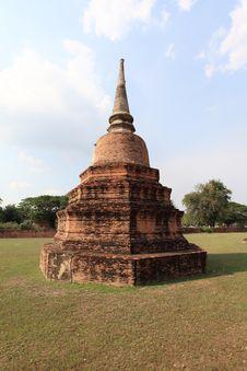 Historic City Of Ayutthaya - Pagoda Royalty Free Stock Images