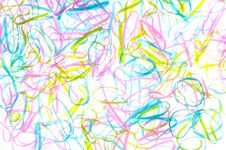 Free Colorful Hair Elastic Bands Stock Image - 19869801