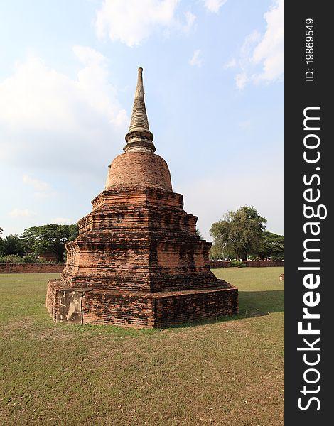 Historic City of Ayutthaya - Pagoda