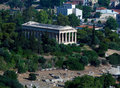 Free Temple Of Hephaistos Stock Photography - 19873962