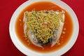 Free Chop Chili Fish Head Royalty Free Stock Photo - 19879775