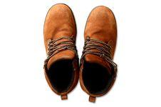 Free Brown Boot Shoe Stock Photos - 19870253