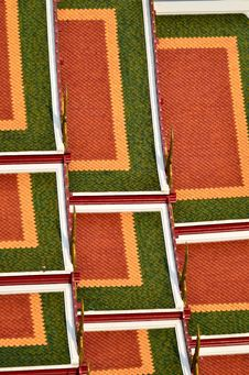Free Roof Tile Of Wat Srakesa Rajavaramahavihara Temple Stock Photo - 19870950