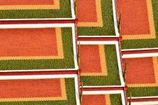 Free Roof Tile Of Wat Srakesa Rajavaramahavihara Temple Stock Photography - 19871022