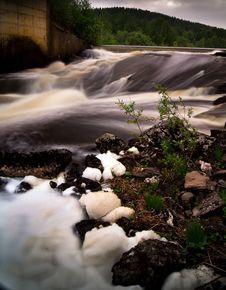 Free River Stream Royalty Free Stock Photo - 19871785