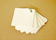 Free Small Notepaper Stock Image - 19871921