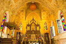 Niwet Thamma Pravat Temple , Ayutthaya, Thailand. Royalty Free Stock Photography