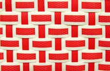 Free Weaving Plastic For Background Royalty Free Stock Images - 19872079
