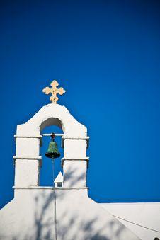 Free Greek Church Royalty Free Stock Photo - 19872115