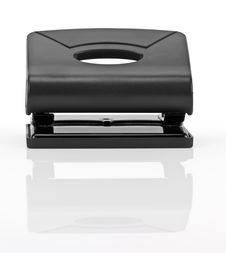 Free Black Office Hole Punch Royalty Free Stock Photography - 19872157