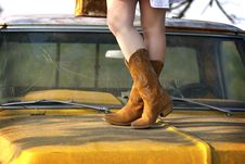 Free Street Boots Stock Image - 19872171