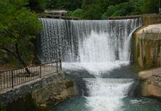 Great Falls In Abkhazia Royalty Free Stock Images