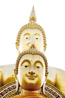 Free Double Face Buddha Statue Stock Photo - 19873250