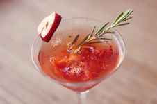Strawberry Cocktail Stock Images