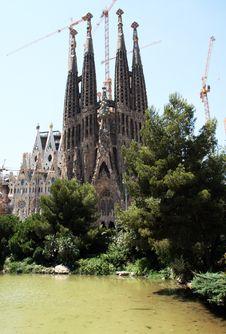 Free Sagrada Familia Stock Image - 19873651