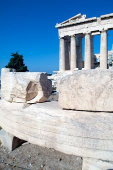 Free Stones Near Parthenon Stock Photos - 19873973