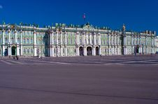 Wide-angle View Of Hermitage Stock Photos