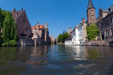 Free Water-view On Bruges Stock Images - 19874064