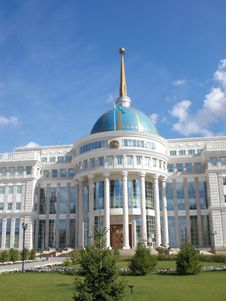 Free Presidential Palace In Astana Royalty Free Stock Photos - 19874248
