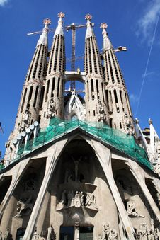 Free Sagrada Familia Stock Photos - 19874423