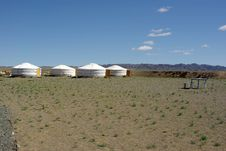 Free Yurt Camp In Mongolia Royalty Free Stock Photo - 19875055