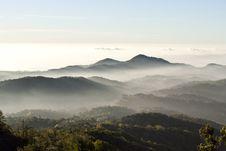 Free Fog On The Mountain Royalty Free Stock Photo - 19875855