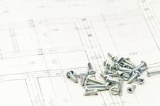 Free Blueprints Detail Royalty Free Stock Image - 19876016