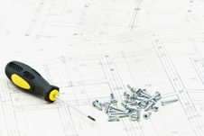 Free Blueprints Detail Royalty Free Stock Images - 19876039