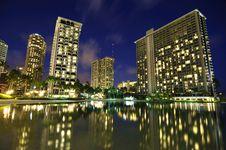 Free Hawaiin Night Stock Photos - 19877473