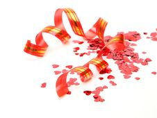 Free Streamer And Confetti Royalty Free Stock Photography - 19878027