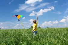 Free Little Boy Outdoors Stock Photos - 19878183