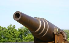 Old Russian Cannon In Suomenlinna Sveaborg Stock Photography