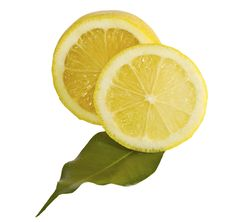 Free Lemon With Leaf Royalty Free Stock Images - 19878569