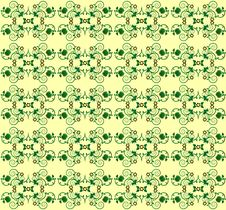 Free Pattern With Flower Seamless Texture Stock Images - 19879944