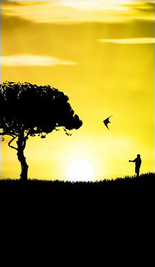 Free Kite Stock Image - 19879951