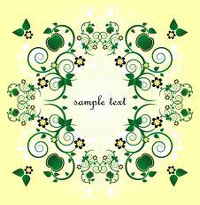 Free Framework With Flower Stock Photo - 19880130