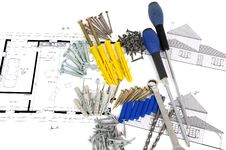 Free Diy Tools Three Stock Image - 19880531