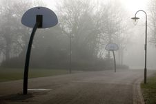 Free Basketball Park Royalty Free Stock Photography - 19881197