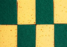 Texture Of Sponge Royalty Free Stock Image