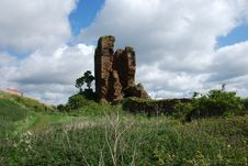 Free Ruins Of Seafield Tower Royalty Free Stock Photography - 19882097