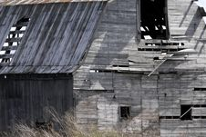 Worn Out Barn Royalty Free Stock Photos