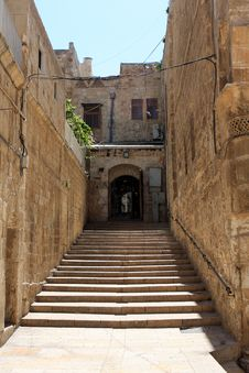 Free Stairway In Jerusalem Stock Photos - 19882793