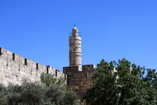 Free Tower Of David, Jerusalem Stock Images - 19882854