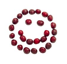 Smiling Cherry Face Royalty Free Stock Images
