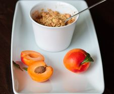 Free Crumble With Apricots Stock Photos - 19883713