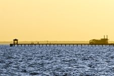 Free Pathway To The Sea Royalty Free Stock Photography - 19884157