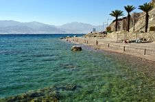 Free View On Coral Beach Near Eilat, Israel Stock Images - 19884464