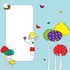 Free Greeting Card Royalty Free Stock Image - 19884746