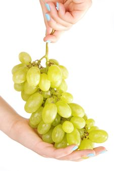 Free Hands And Grape 3 Stock Image - 19884821