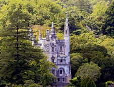 Free Castle In A Forest Royalty Free Stock Photography - 19884927